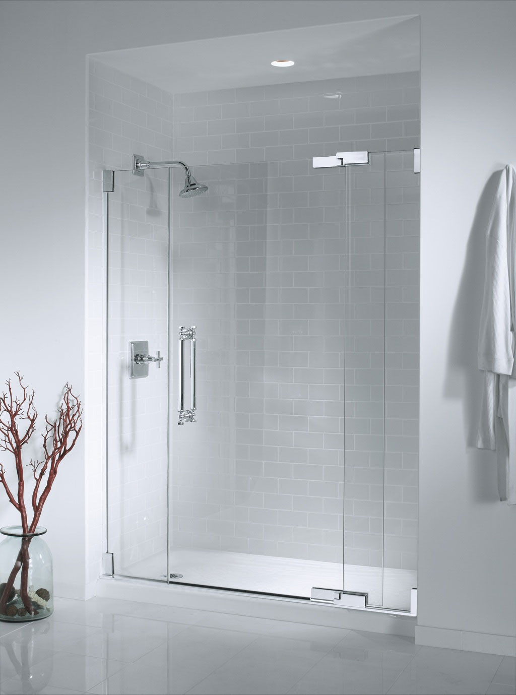 Express shower doors and glass for Master bathroom glass doors